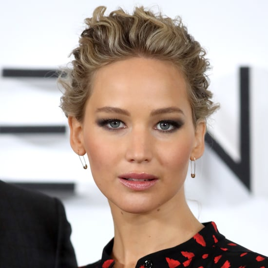 Jennifer Lawrence With Braid at Passengers Premiere