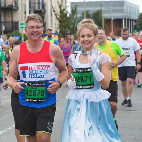 Cancer Survivor Runs Half-Marathon in Cinderella Dress