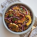 Vegan: Farro Salad With Delicata Squash and Pomegranate