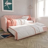 Novogratz Tallulah Tufted Daybed and Trundle