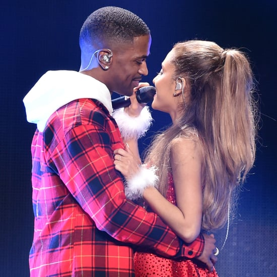 Ariana Grande and Big Sean Show Sweet PDA on Stage
