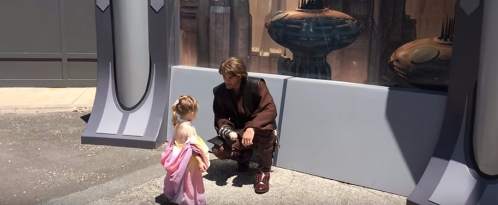 "This Little Girl ""Met"" Anakin Skywalker, and Their Interaction Is Too Sweet"