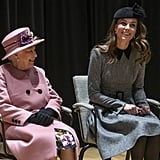 Kate's First Engagement With the Queen