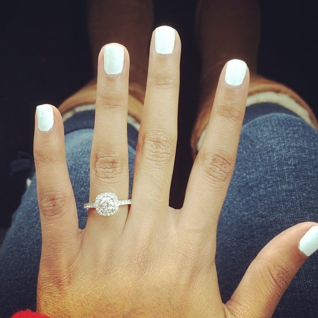 engagement ring inspiration popsugar love sex - Circle Wedding Rings
