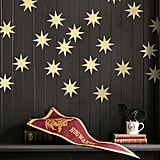 Gold Starburst Wall Decals