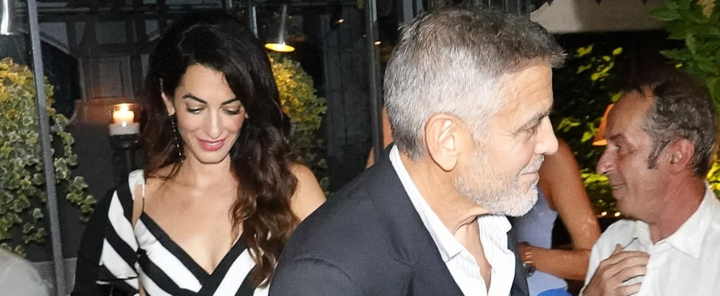 George and Amal Clooney Out in Italy August 2018