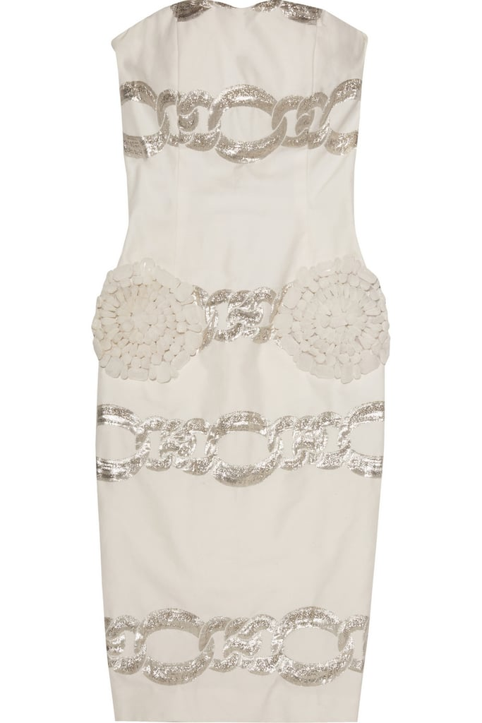 Giambattista Valli Embellished Twill Dress