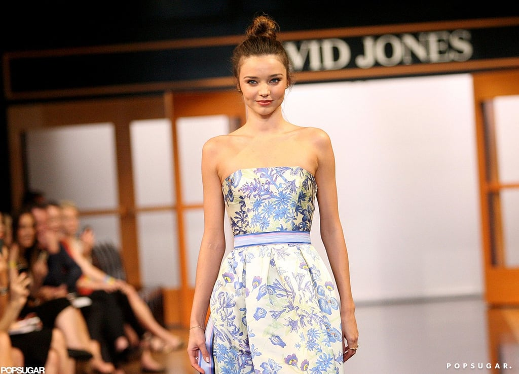 Miranda Kerr Models Australian Designs Down Under For David Jones