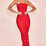 Shop Ariel Winters's Red House of CB Dress