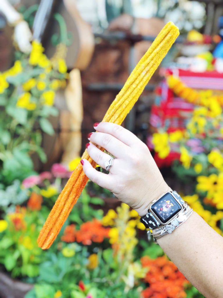 Candy Corn Churro at Disneyland