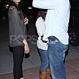 Dev Patel and Freida Pinto made time for dinner at Pica.