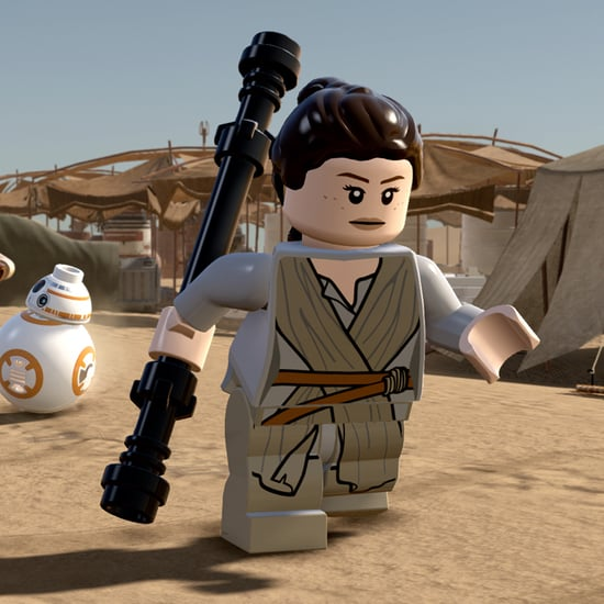 Lego Star Wars: The Force Awakens Game Rey Preview