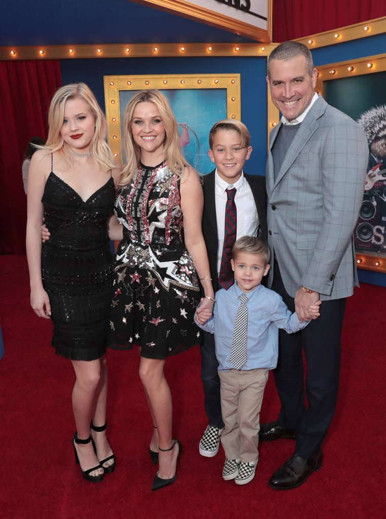 Reese Witherspoon may be an Oscar-winning actress with a fashion line and lifestyle empire, but she's also a doting mom. The 42-year-old actress became a mother back in 1999 when her daughter, Ava Phillippe, was born. Reese and then-husband Ryan Phillippe welcomed son Deacon in 2003, and in 2012, Reese gave birth to son Tennessee with husband Jim Toth, whom she married the previous year. Recently, Reese celebrated a big milestone, three-fold: her kids graduated from high school, junior high, and preschool, respectively, and she commemorated the exciting day with a picture-perfect shot of her three gorgeous children. We've rounded up over 50 photos of Reese's family that are fit for a scrapbook. Keep reading to see them all now!      Related:                                                                                                           31 Pictures of Reese Witherspoon and Jim Toth That Are Just Like Heaven