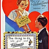 It's all about the chocolate, at least according to advertisers.