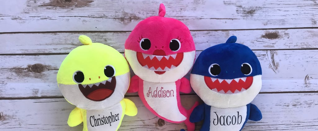 Personalized Baby Shark Plush Dolls From Etsy