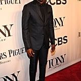 Wayne Brady suited up for the Tonys.