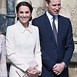 They Attended an Easter Service With the Royal Family