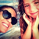 Soleil Moon Frye snapped a pic with her mini-me on the beach. Source: Instagram user moonfrye