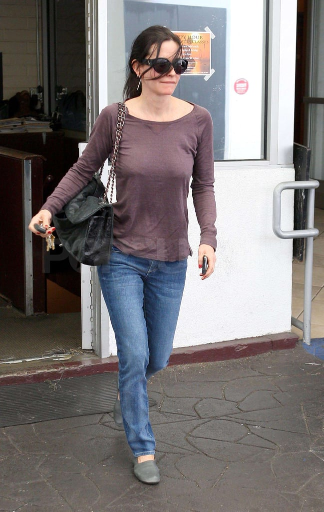 Pictures of Courteney Cox Out and About in Beverly Hills
