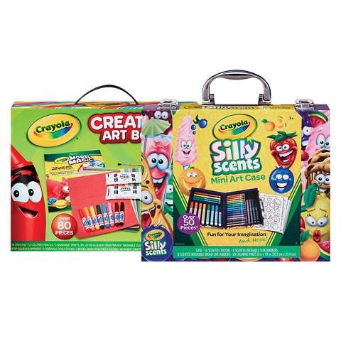 Crayola Silly Scents Carrying Case or Creative Art Box