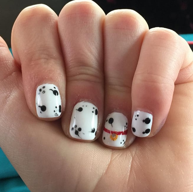 Simple Disney Nail Designs