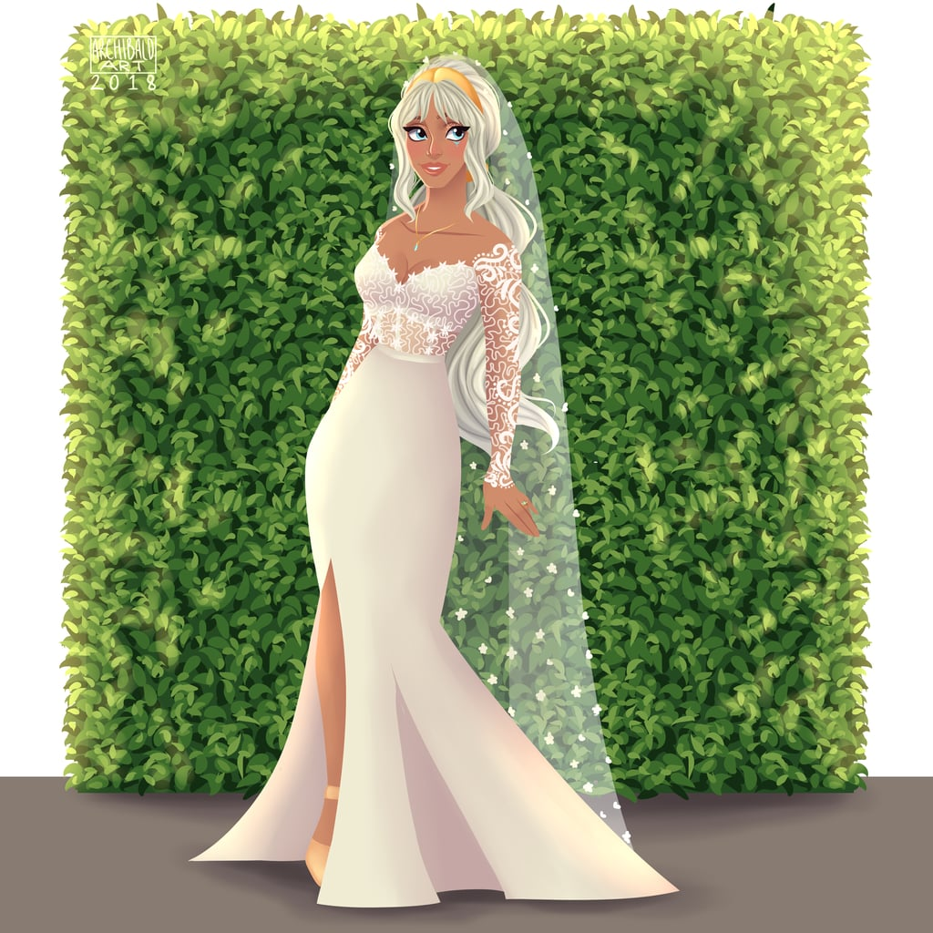 Can't Take Your Eyes Off of Kida's Gown? Same.