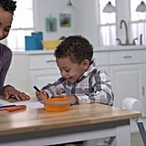 Up-to-the-Table Options Although the tray works as a built-in table in all modes, parents can also choose to pull the high chair — or youth chair — right up to the table so that little ones can join the rest of the family.