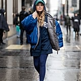 Style It Under a Puffer Coat When It Gets Cold, and Double Up on Slogans With a Graphic Hat