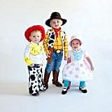 Woody, Jessie, and Bo-Peep (Toy Story)