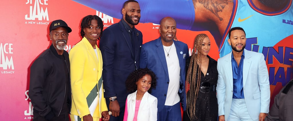 LeBron James Brought His Family to Space Jam 2 Premiere