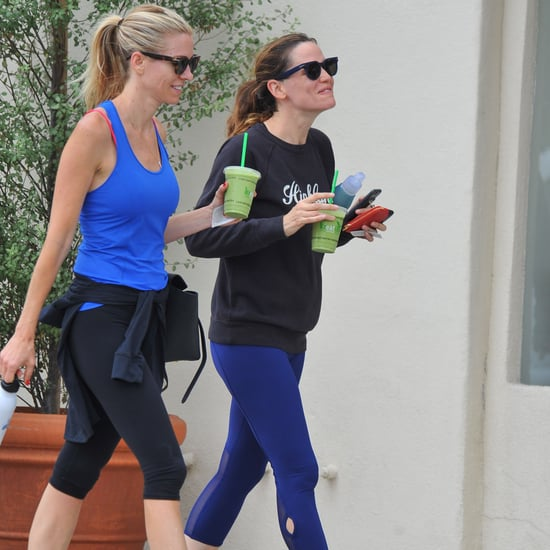 Jennifer Garner Out With a Friend in LA August 2016