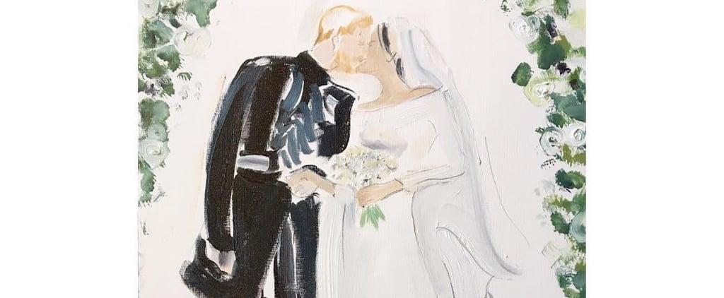 Poppy Waddilove Royal Wedding Illustrations