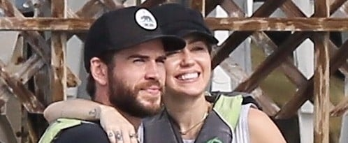 Miley Cyrus and Liam Hemsworth Wear Wedding Bands While Returning to the Place They First Met