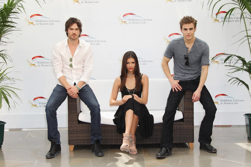 Pictures of The Vampire Diaries Cast In Monte Carlo
