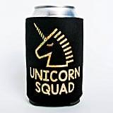 Unicorn Squad Can Cooler ($6)