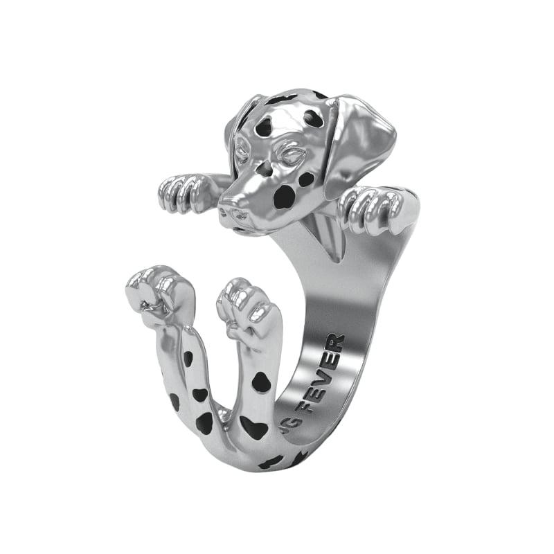Dalmatian Hug Ring ($262)
