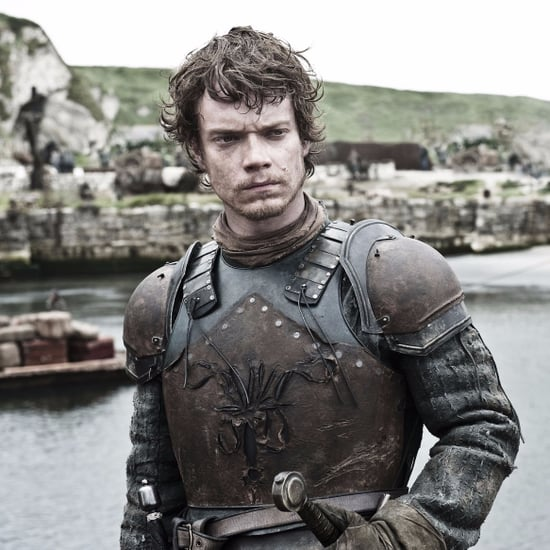 Theon Jumping Off the Boat on Game of Thrones Reactions
