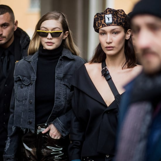 Gigi and Bella Hadid Best Fashion Week Moments Fall 2018