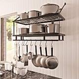 KES Kitchen Pan Pot Rack Wall