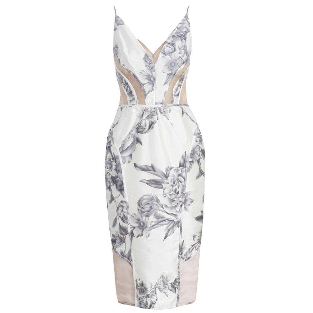 There's something romantic — in a much sexier way — about this curve-enhancing Zimmermann Rising Floral Panel Dress ($685), and we think it has everything to do with the mesh detailing throughout. Don't get us wrong; this dress is still very much a ladylike choice, but for the girl who wants to nail the element of surprise, here you go.