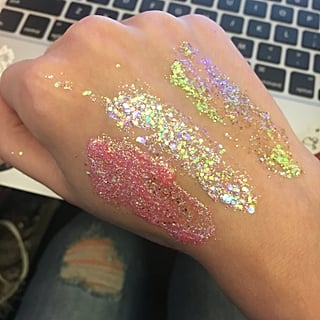 Models Own Glitter Mix Gel Swatches