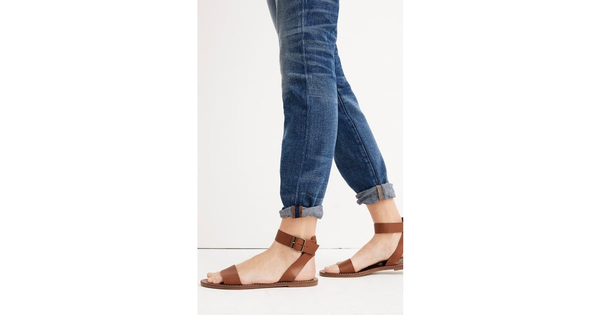 Boardwalk Ankle Strap Sandals