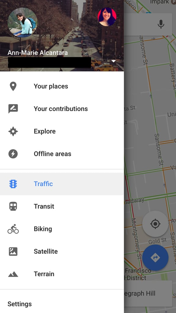 "To see your lists, tap on the sidebar of Google Maps and choose ""Your Places."""