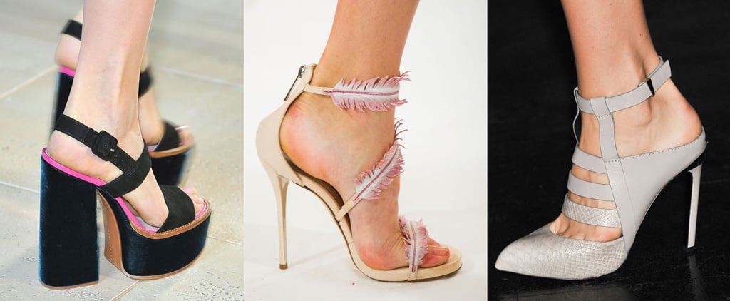 Shoe Trends From Spring 2015 New York Fashion Week