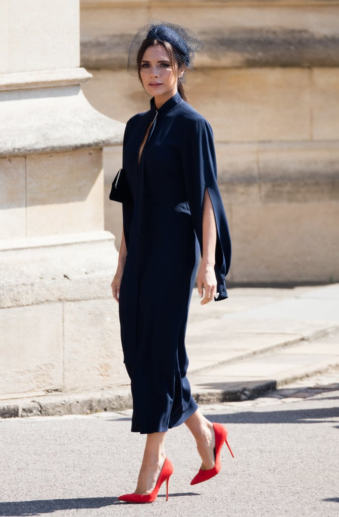 Victoria Beckham S Outfits At The Royal Weddings Popsugar Fashion Uk