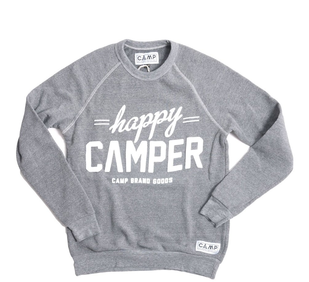 Happy Camper Fleece Crewneck