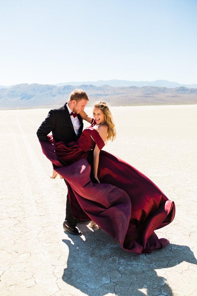 Sexy Desert Engagement Photo Shoot