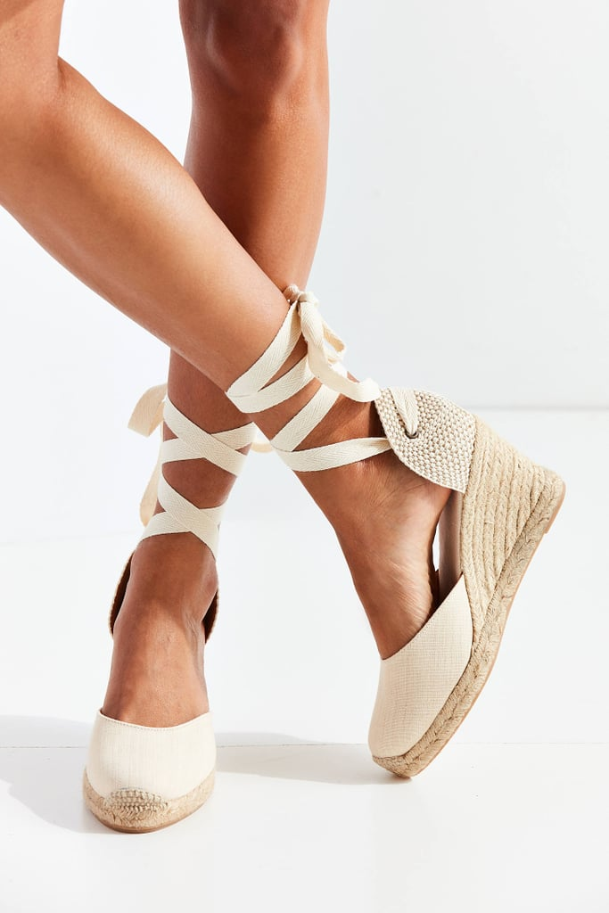 9ef402cd17f Soludos Linen Espadrille Tall Wedge Sandals | Best Wedge Sandals ...