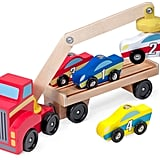 Melissa & Doug Magnetic Car Loader Toy