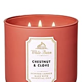 Bath and Body Works Chestnut and Clove 3-Wick Candle